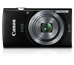 Canon IXUS 160 20MP Point and Shoot Digital Camera with 8x Optical Zoom (Black)