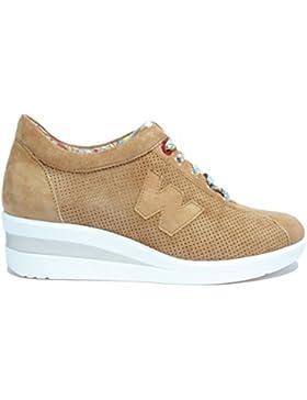 Melluso Sneakers zeppa cuoio s