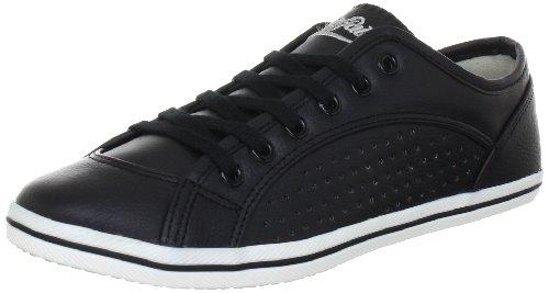 Buffalo 507-V9987 TUMBLE PU Damen Sneakers Schwarz (BLACK692)
