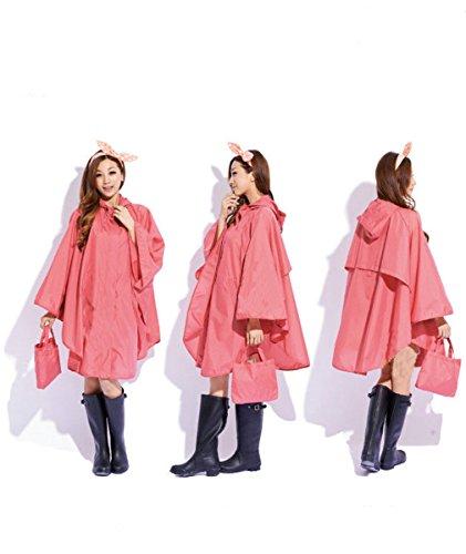 Angelsport Hell Einweg Erwachsene Poncho Regenjacke Regenmantel Unisex Regencape Notfall Damen Die Neueste Mode Sport