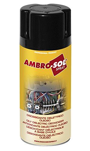 Ambro-Sol M201 Antioxidante Dieléctrico Oleoso, Transparente, 400 ML