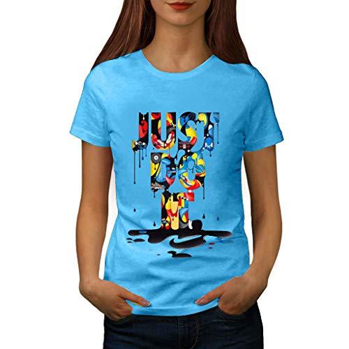 Zeigen Juniors T-shirt (Frauen Kurzarm T-Shirt,T-Shirt mit Lässiges T-Shirt Bluse Tops Buntes Muster Bedrucktes Kurzarm-T-Shirt Plus Size Print
