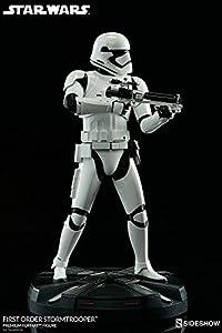 Sideshow-Star Wars First Order Stormtrooper Figura, 747720233294, 50cm