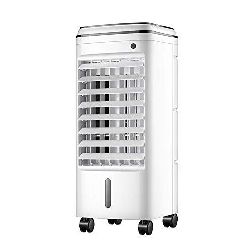 KTCLE LuftküHler Mobile Klimaanlage Klein Ventilator Turmventilator Klimaanlage Fan Electric Fan, KüHlung Small Home Remote Control Conditioner Single Wasserschlafsaal Mute Tristar Remote