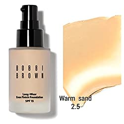 Bobbi Brown Studio Face Foundation Shade Sand Warm