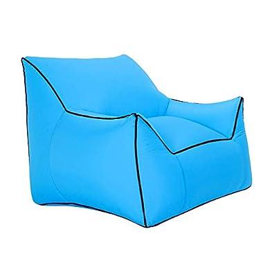 CSPFAIRY Schnelles Aufblasbares Sofa Multifunktionales Faltbar Lazy Air Sofa für Wohnzimmer, Schlafzimmer, Camping, Parks, Wandern, Spiel
