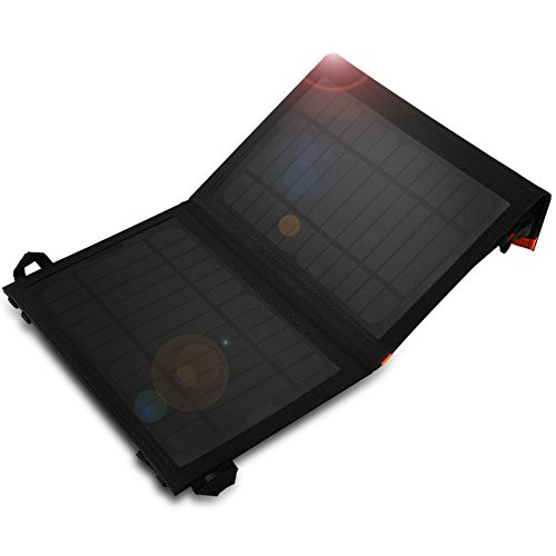 Cargador Panel Solar 7W YOKKAO Cargador Placa Solar Plegable Impermeable con USB para cargar Smartphones / iPhone 6 / 6 Plus / Samsung S6 edge / GPS / PSP / Cámara, etc.