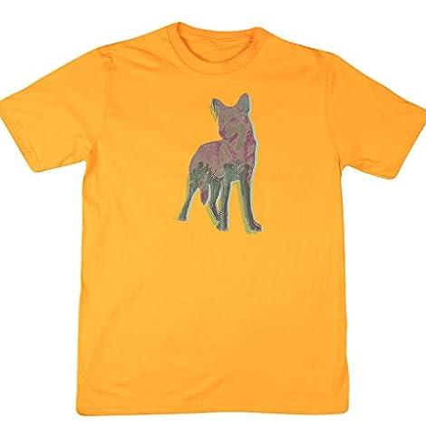 Hippowarehouse - T-shirt - Homme - jaune