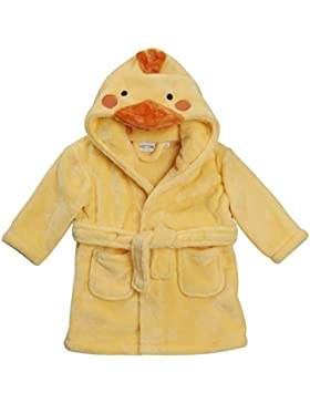 Baby NEUHEIT Bademantel Baby Maus Panda Duck mit Kaputze face detail 6-12 12-18 18-24