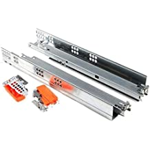 Ronin Furniture Fittings® Blum Tandem Guías de cajón (, longitudes de 270mm de 650mm, incluye acopladores, 30kg, 550H