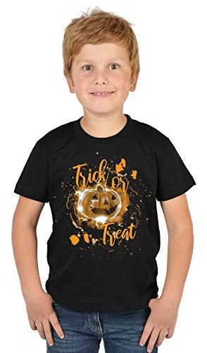 Kürbis Kopf Kostüm Für Kinder - Kürbis-Kopf, Halloween Kostüm Shirt Kinder :