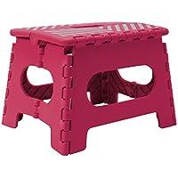 Preisvergleich für Simplify Easy Folding Step Stool Fuchsia - 9 Inch
