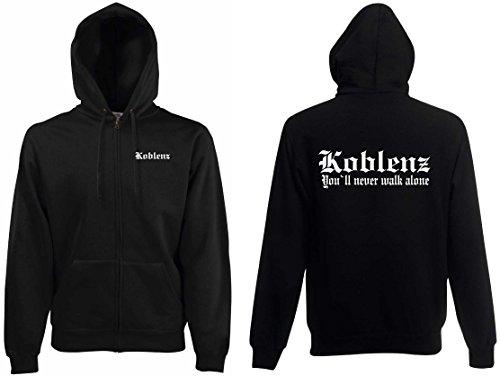 world-of-shirt Herren Kapuzenjacke Koblenz Ultras