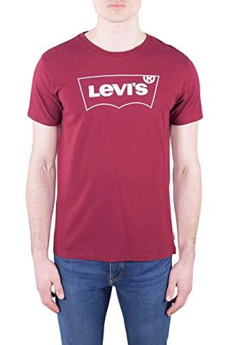 Levi's Herren Housemark Graphic Tee T-Shirt, Braun (Hm Outline Cabernet 0230), Medium (Herstellergröße: M)