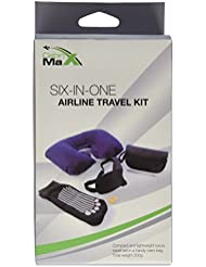 Cabin Max Endgültiges Necessaire - Nackenrolle, Augenmaske, Gehörschutzstöpfel, Massagesocken und Stift