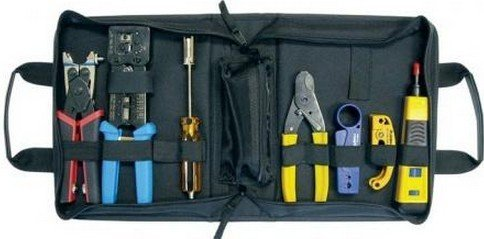 Platinum Tools 90153 PRO HD Twisted Pair & Coaxial Kit, w/Zip Case. Box. by Platinum Tools (Twisted-zip)