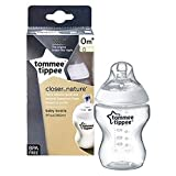 Tommee Tippee Closer-Nature Plastic Feed Bottle transparent, 260 Ml, Tt422499