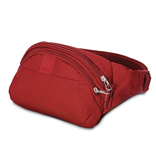 Pacsafe Metrosafe LS120Diebstahlschutz Hip Pack, schwarz (schwarz) - 30405 Vintage Red