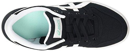 Asics Aaron Gs Jungen Sneaker Schwarz (Black/White 9001)