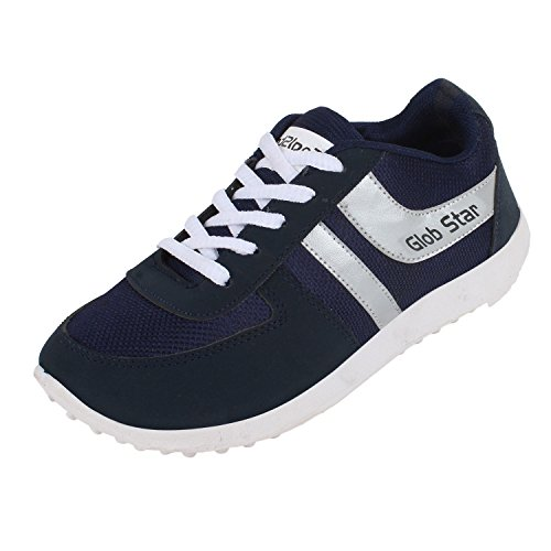 Bersache Men's Blue Sports Shoes (Running Shoes) (9 UK)  available at amazon for Rs.198