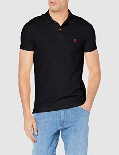 IZOD Herren Performance Pique Polo Shirt, Schwarz (Black 001), X-Large -