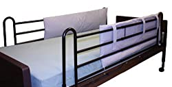 Roscoe Hospital Bed Rail Bumper Pads - 1 Pair - 48x15x1 Inches