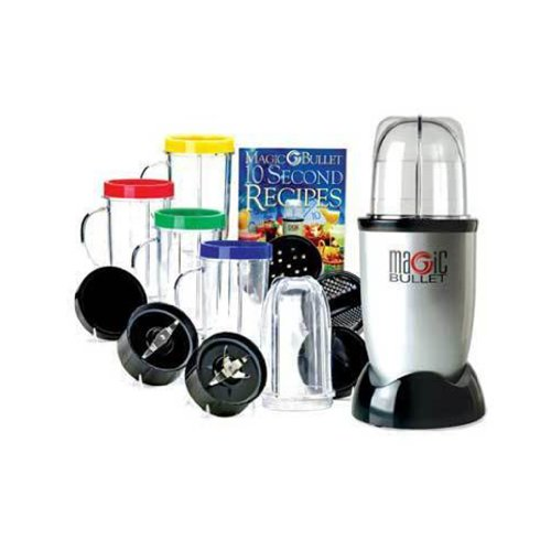 Factory New MAGIC BULLET DELUXE 21 PC SET BLENDER CHOPPER GRINDER Multi Purpose Blender Mixer Shaker As Seen On Tv by Payless Shop