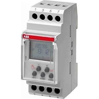 ABB Stotz S&J Digitalschaltuhr DT2 Wochenprogramm System pro M compact Verteilerschaltuhr digital 8012542043058