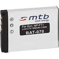 Batería NP-FT1 para Sony Cyber-shot DSC-T3, DSC-T5, DSC-T9, DSC-T10, DSC-T11, DSC-T33