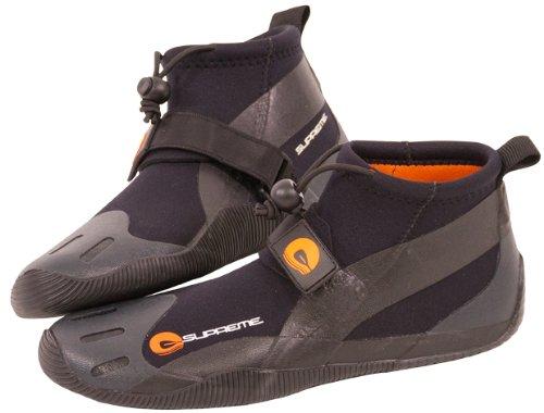 SUPreme 2mm Power Phase Boot, Gray/Black, 12 - Standup Paddleboarding, Kayaking & Water Sports