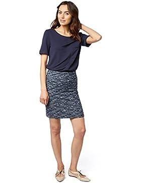 Tom Tailor für Frauen Skirt schöner Bouclé- Rock mit Struktur
