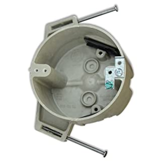 Allied Moulded H9351=NGK 4-Inch Diameter Round Fberglassbox