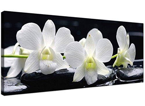 Lienzo grande, impresiones arte pared, diseño flores