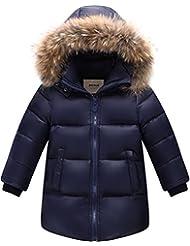ZOEREA Unisex abajo chaqueta niño invierno abrigos niña ropa de niña capa niño