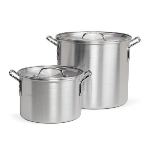 Pedrini 20-quart con bonus 8-quart stock pot