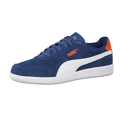 Puma Unisex-Kinder Icra Trainer Sd Jr Sneaker Blau (SAILOR blue-white)