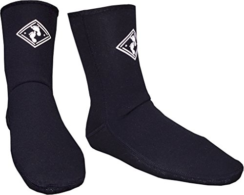 neoprene-wetsuit-socks-by-mikes-diving-for-use-with-boots-dive-surf-sailing-etc-l