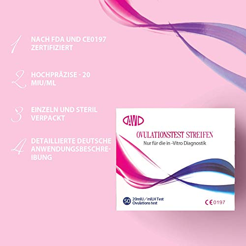 Zoom IMG-1 test di ovulazione 50 ovulazion