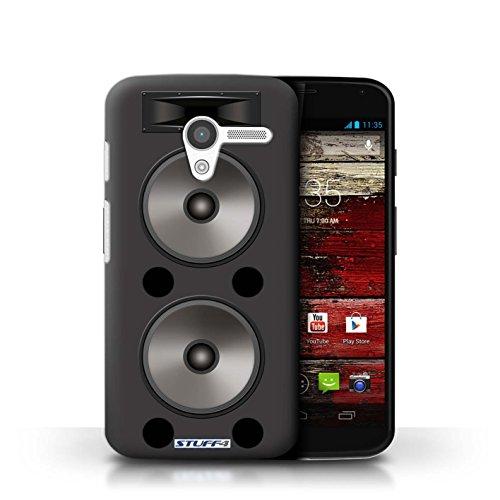 Kobalt® Imprimé Etui / Coque pour Motorola MOTO X / Hifi conception / Série Haut-Parleur dessin Double