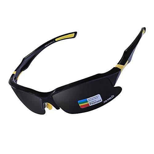 Sport Polarisierte Sonnenbrille Schwimmende Sonnenbrille Fanggeräte Brille (Color : JP007 AP, Size : One Size)