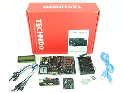 AVR Development Board für ATmega 32Kit Selbst Starter Learning USB-Programmer mit Schnittstelle Module | technido - 8 Atmega