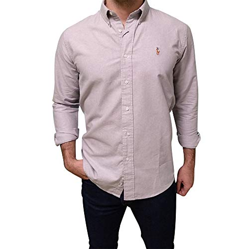 3170ad026 polo ralph lauren. Ralph Lauren Camisa Oxford Slim Fit (M