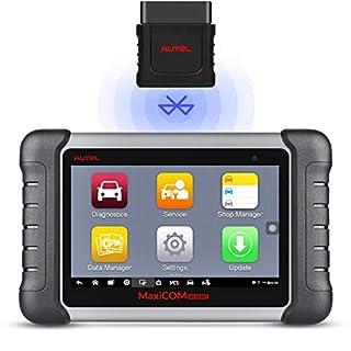 Autel MaxiCOM MK808BT OBD2 Diagnosegerät Scanner Diagnosewerkzeug für alle Fahrzeuge, vollständige Systemdiagnose & IMMO/EPB/SAS/BMS/TPMS/DPF, Verbesserte Version von MK808 Deutsch verfügbar
