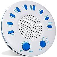 TYUE Máquina de Ruido Blanco, Instrumento de sueño, música Durmiente con opción de Temporizador, 9 suavizante Natural Sonidos relajantes, para el bebé, niños, Adultos, insomnio Pacientes con Tinnitus