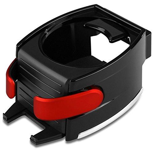 Car Cup Holder, antiacaro, regolabile auto bevanda supporto porta cellulare per bocchette dell' aria per veicolo automobile - No Aria Condizionata