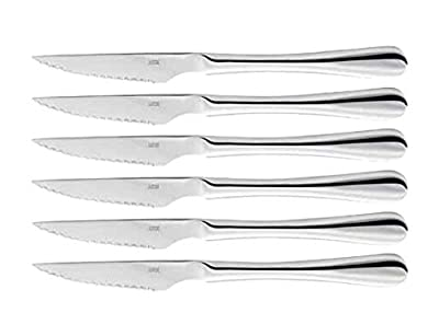 Judge Steak Knives, Silver, Set of 6