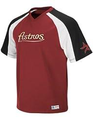 Houston Astros Majestic V-Neck Crusader Jersey
