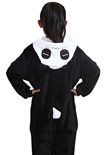 (KSFJV Schlafanzug Kostüm,Panda,115cm)