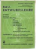 Bauentwurfslehre Handbuch