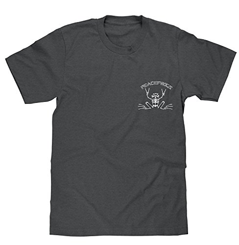 peace-frogs-rowing-skeleton-licensed-t-shirt